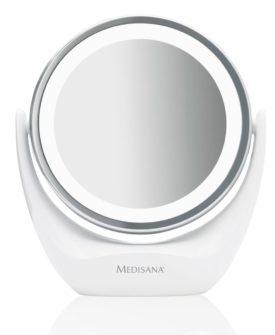 Medisana 2-i-1 kosmetikspejl CM 835 12 cm hvid 88554