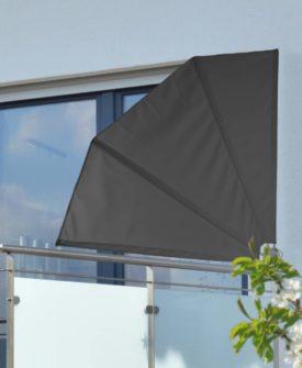 HI altanafskærmning 1,2 x 1,2 m polyester sort