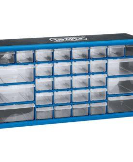 Draper Tools 30-skuffer værktøjsarrangør blå 12015