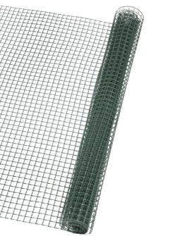Nature firkantet trådnet til haven 5×5 mm 1×3 m grøn