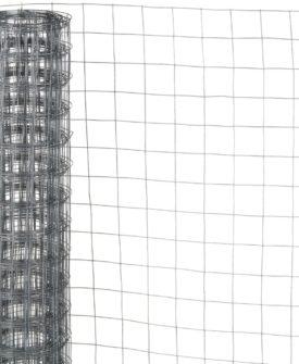 Nature firkantet trådnet 0,5×2,5 m 6,4 mm galvaniseret stål
