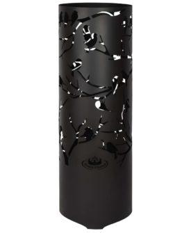 Esschert Design bålkurv Birds on Twig kulstofstål sort FF409