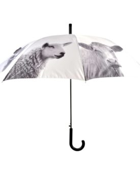 Esschert Design paraply med bondegårdsdyr
