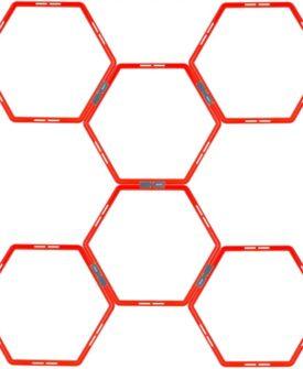 Avento agility-gitter 6 stk. sekskantet