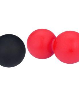 Avento lacrosse-/massagebolde pink og sort