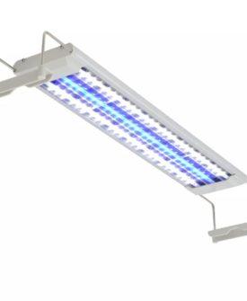 vidaXL LED-akvarielampe 50 – 60 cm aluminium IP67