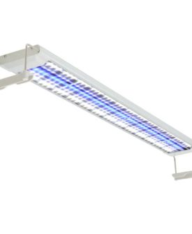vidaXL LED-akvarielampe 80-90 cm aluminium IP67