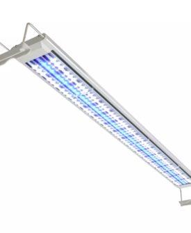 vidaXL LED-akvarielampe 100-110 cm aluminium IP67