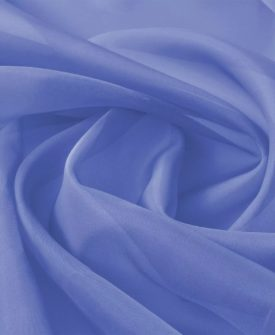 vidaXL voile-stof 1,45×20 m kongeblå