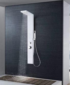 vidaXL bruserpanelsystem aluminium mat hvid