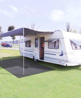 vidaXL telttæppe 250 x 400 cm antracitgrå