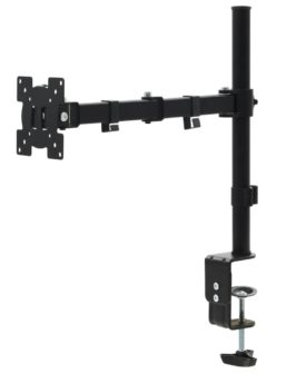 vidaXL bordbeslag til skærm 32″ enkelt arm højdejusterbar