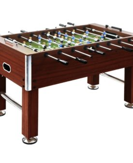 vidaXL fodboldbord 60 kg 140 x 74,5 x 87,5 cm stål brun