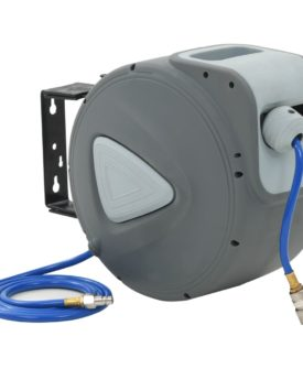 vidaXL automatisk luftslangetromle 1/4″