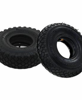 vidaXL 2 dæk 2 indvendige rør 3.00-4 260 x 85 sækkevognshjul gummi