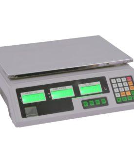 vidaXL digital vægt 30 kg med genopladeligt batteri