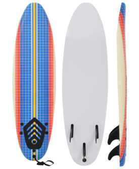 vidaXL surfbræt 170 cm mosaik