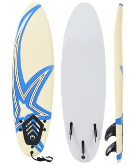 vidaXL surfbræt 170 cm stjerne