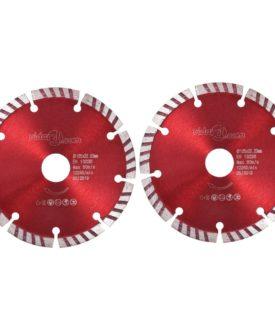 vidaXL skæreskiver til diamantskærer med turbo 2 stk. 125 mm stål