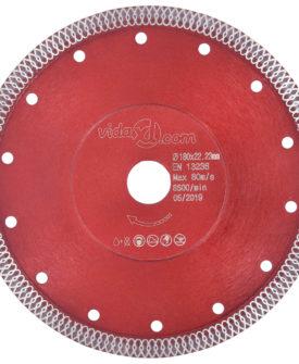 vidaXL skæreskive til diamantskærer med huller 180 mm stål
