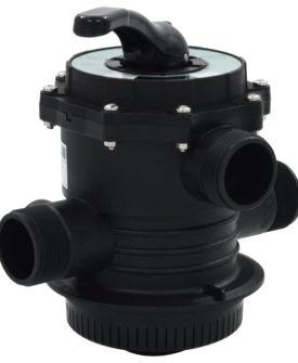 vidaXL multiportventil til sandfilter ABS 1,5″ 6-vejs