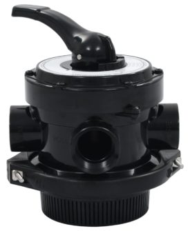vidaXL multiportventil til sandfilter ABS 1,5″ 4-vejs