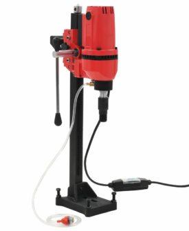 vidaXL kerneboremaskine med stativ 2600 W 200 mm