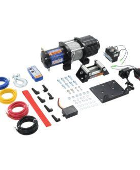 vidaXL elektrisk hejsespil 12 V 4500 lbs 2040 kg med fjernbetjening
