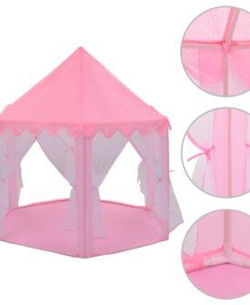 vidaXL prinsessetelt pink