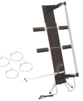 vidaXL skumskærer med ben 200 W krydsfiner