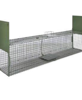 vidaXL levende fælde med 2 døre 150 x 30 x 30 cm