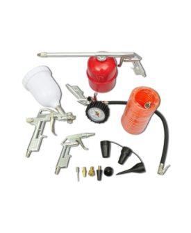 Kompressorkit maling pistol pneumatiske målere