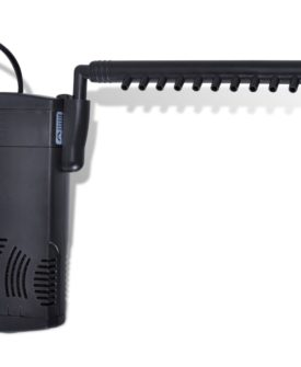 Filterpumpe til akvarium aktivt kul 300 l/t