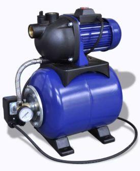vidaXL elektrisk havepumpe 1200 W blå