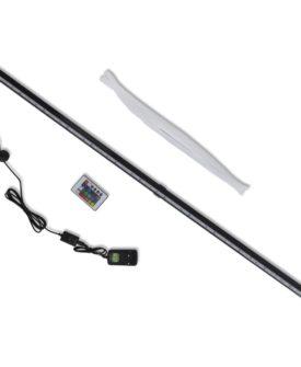vidaXL LED akvarieboblelampe RGB 107 cm