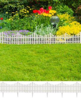 Hvid græsplæne Rumdeler 17 stk / 10 m