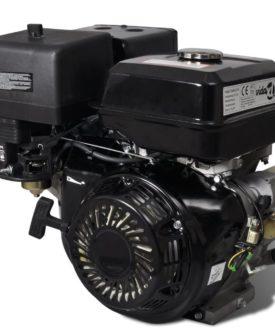 vidaXL benzinmotor 15 HK 9,6 kW sort