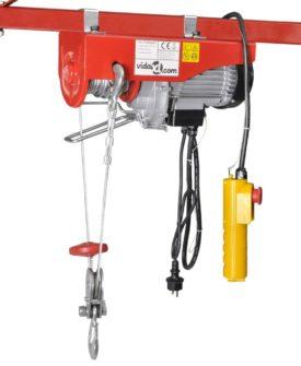 vidaXL elektrisk hejseværk 500 W 100/200 kg