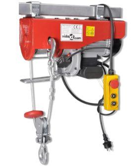 Elektrisk hejseværk 1300 W 500/999 kg
