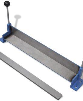 Manuelt opereret stålplade foldemaskine 450 mm
