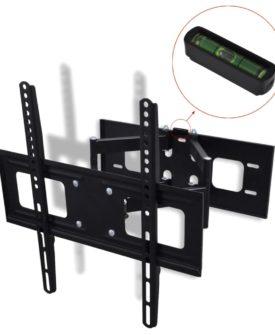 vidaXL dobbeltarmet drejeligt vipbart TV-ophæng til væggen 3D 400 x 400 mm 32″ – 55″