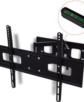 vidaXL dobbeltarmet drejeligt vipbart TV-ophæng 3D 600×400 mm 37″- 70″