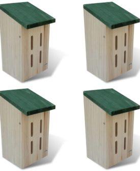 Sommerfugle hus, 14 x 15 x 22 cm, sæt á 4 stk