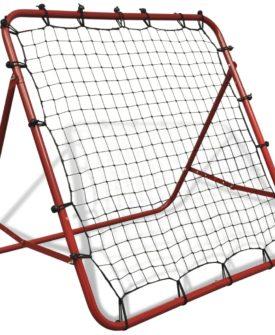 vidaXL justerbar fodbold kickback rebounder 100 x 100 cm