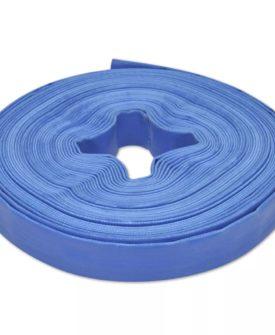 vidaXL flad slange 25 m 1″ PVC til transport af vand