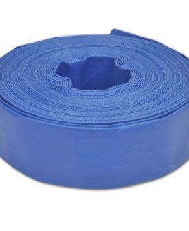 vidaXL flad slange 25 m 2″ PVC til transport af vand