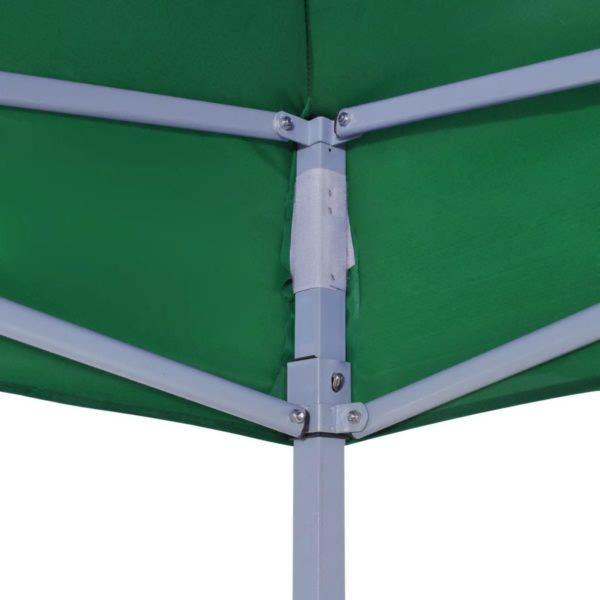 vidaXL sammenfoldeligt telt 3 x 3 m grøn