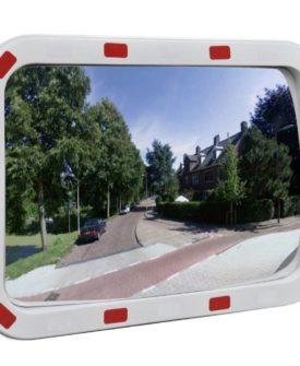 vidaXL konvekst trafikspejl rektangulært 40 x 60 cm med reflekser