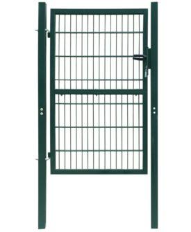 2D havelåge (enkelt), grøn, 106×210 cm