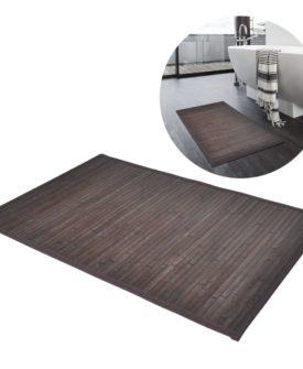 Bambusbademåtte 60 x 90 mørkebrun